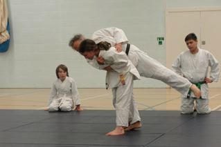 Judo club in action!